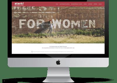 Website Sterk! Training & Coaching
