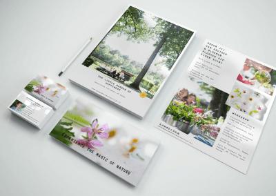 Flyer & business cards Gezondheid Natuurlijk